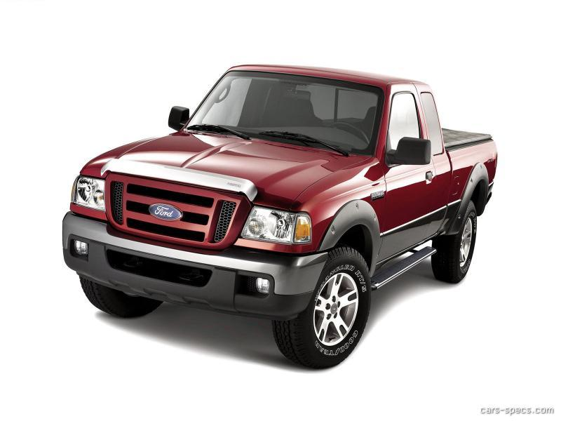 2006 ford ranger regular cab specifications pictures prices. Black Bedroom Furniture Sets. Home Design Ideas