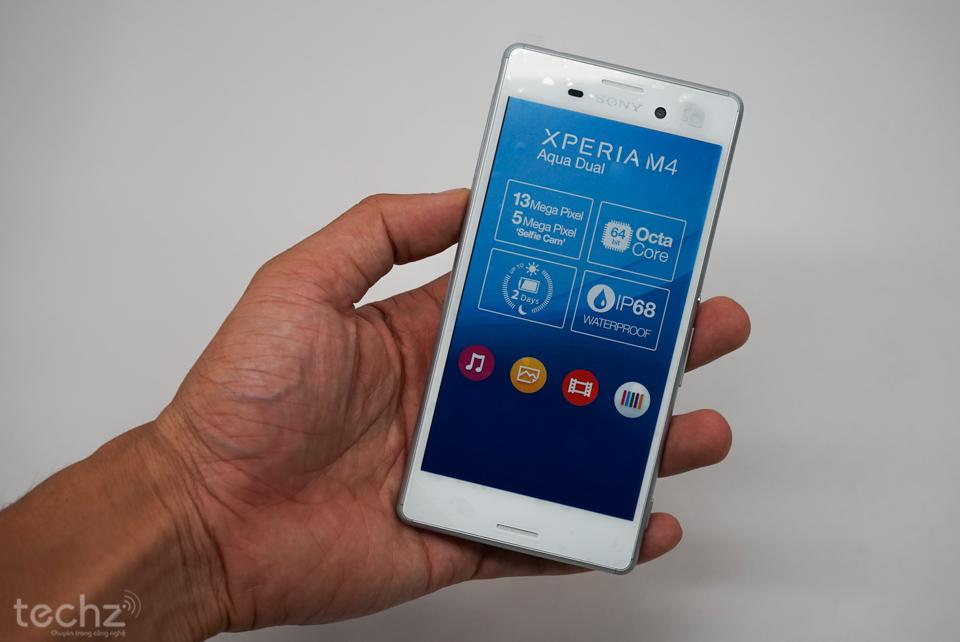 Trên tay Sony Xperia M4 Aqua: Đối thủ xứng tầm với ASUS ZenFone 2