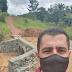SANTA LUZIA: PREFEITO ACOMPANHA INÍCIO DA OBRA DE CONTRUÇÃO DA PONTE NA REGIÃO DO SERROTE