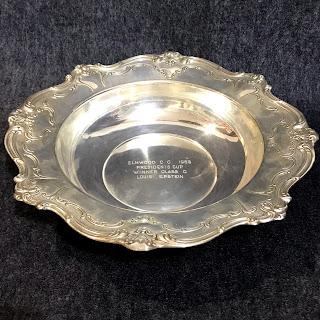 Sterling Silver Gorham Trophy Bowl 1