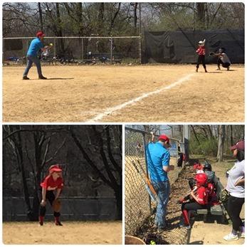 Opening softball season
