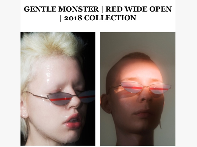 e88254a239 The Gentle Monster 2018 Collection  RED WIDE OPEN  owes its inspiration to  the 1999 Stanley Kubrick Film