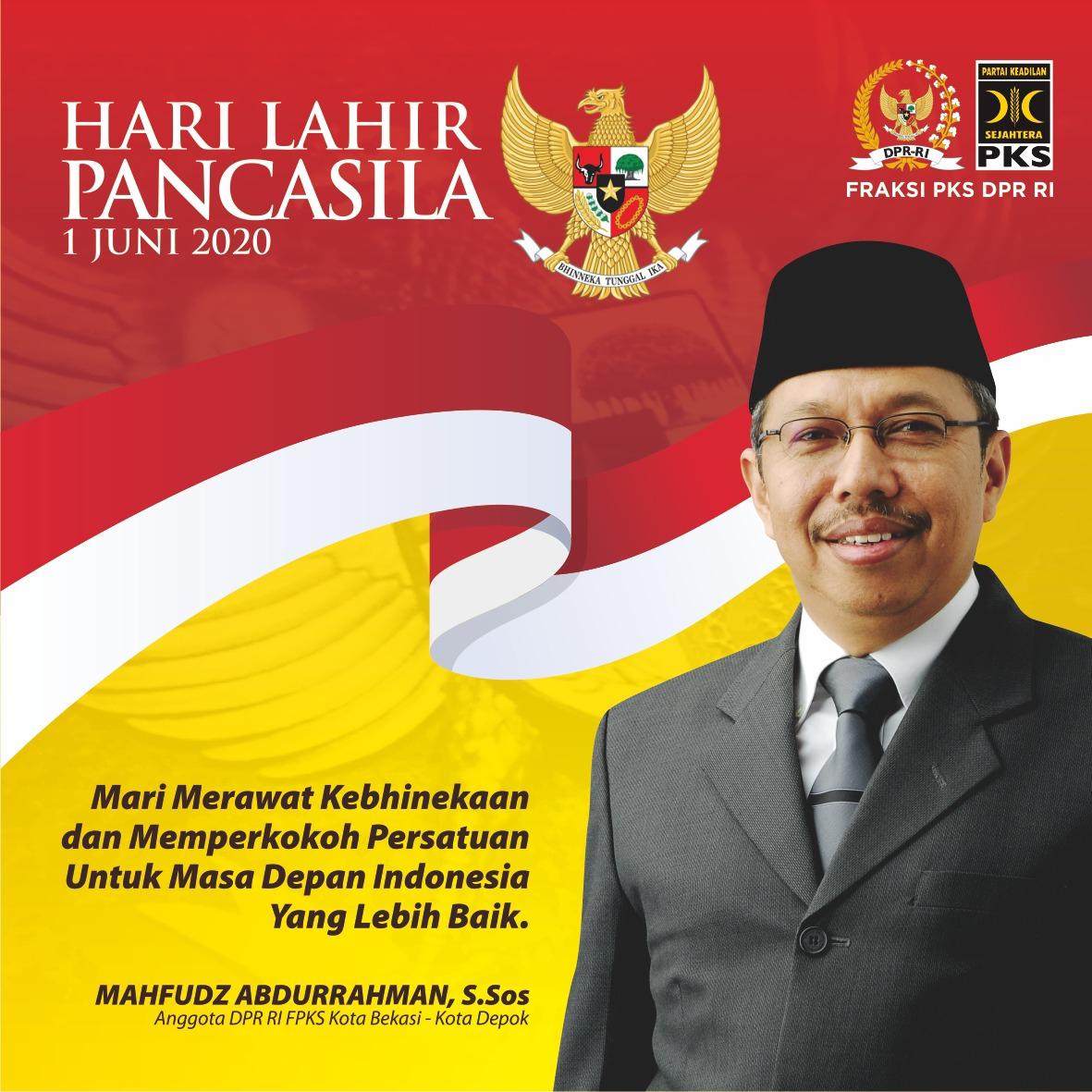 """Mahfudz Abdurrahman """"mari merawat kebhinekaan dan memperkokoh persatuan untuk masa depan Indonesia yang lebih baik"""""""