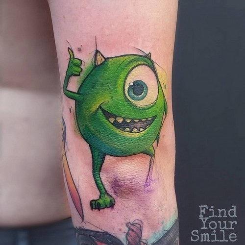 este_divertido_monstros_tatuagem