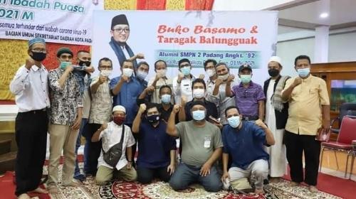 Wako Hendri Septa Ajak Alumni SMPN 2 Padang Bangun Kota Padang