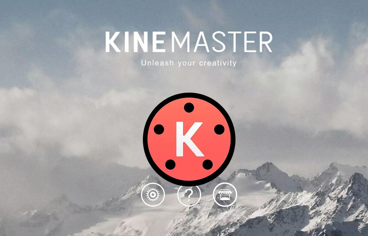 menghapus watermark kine master