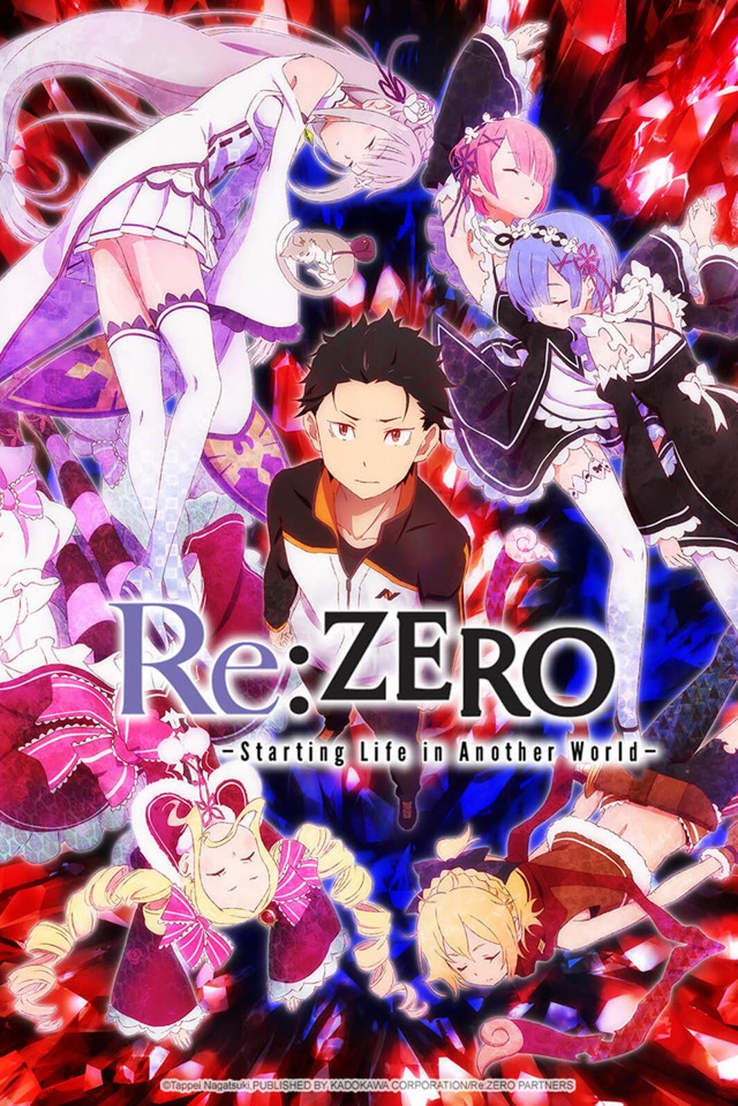 Re:ZERO (25/25) (LATINO) (MEGA 1 LINK)