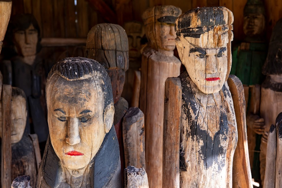 rzeźby Jana Bernasiewicza, Muzeum Wsi Kieleckiej