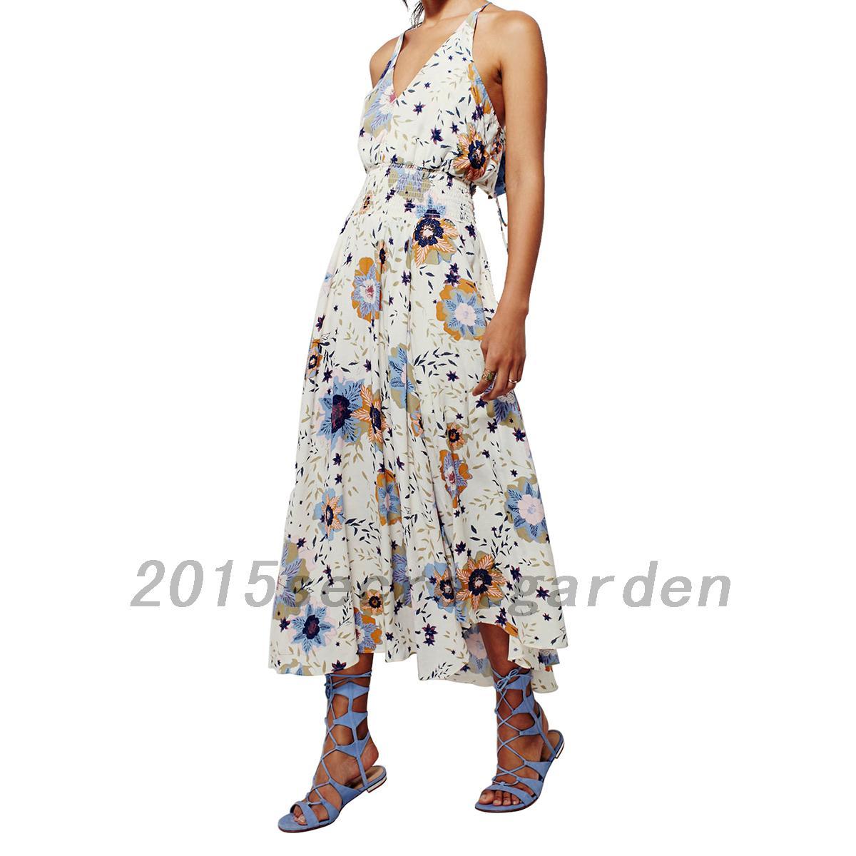 damen maxi lang kleider v ausschnitt r ckenfrei kleid abendkleid party kleider ebay. Black Bedroom Furniture Sets. Home Design Ideas