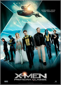 X-Men: Primeira Classe BDRip AVI Dual Áudio + RMVB Dublado
