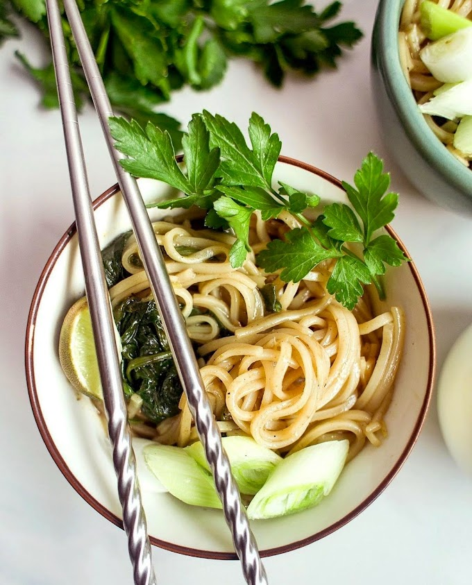 Ginger Rice Noodles Recipe | Breakfast Care