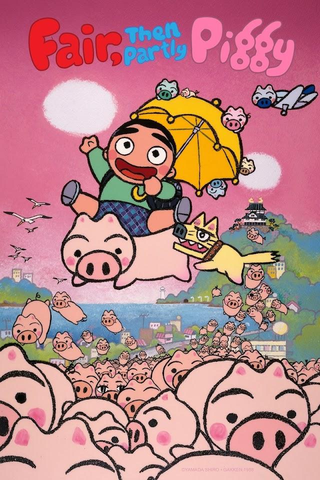 Fair, then Partly Piggy