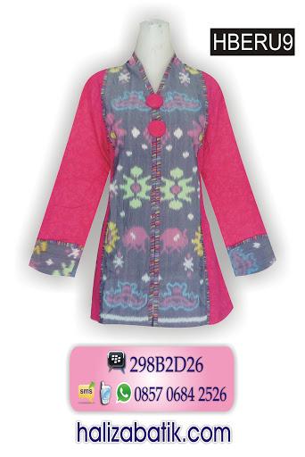 toko baju online, desain baju batik, busana batik wanita