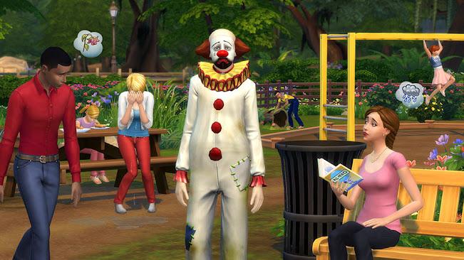 De Sims 4 Tragische clown