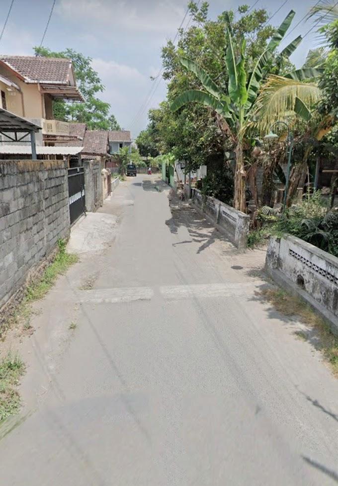 Tanah Murah strategis Pinggir Jalan Aspal Timur Kampus UMY dalam ringroad