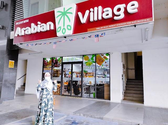 Lebih 3000 Jenis Poduk Makanan Sunnah Di Arabian Village KL Traders Square