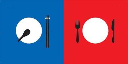 Bộ ảnh thú vị về sự khác biệt giữa Đông – Tây