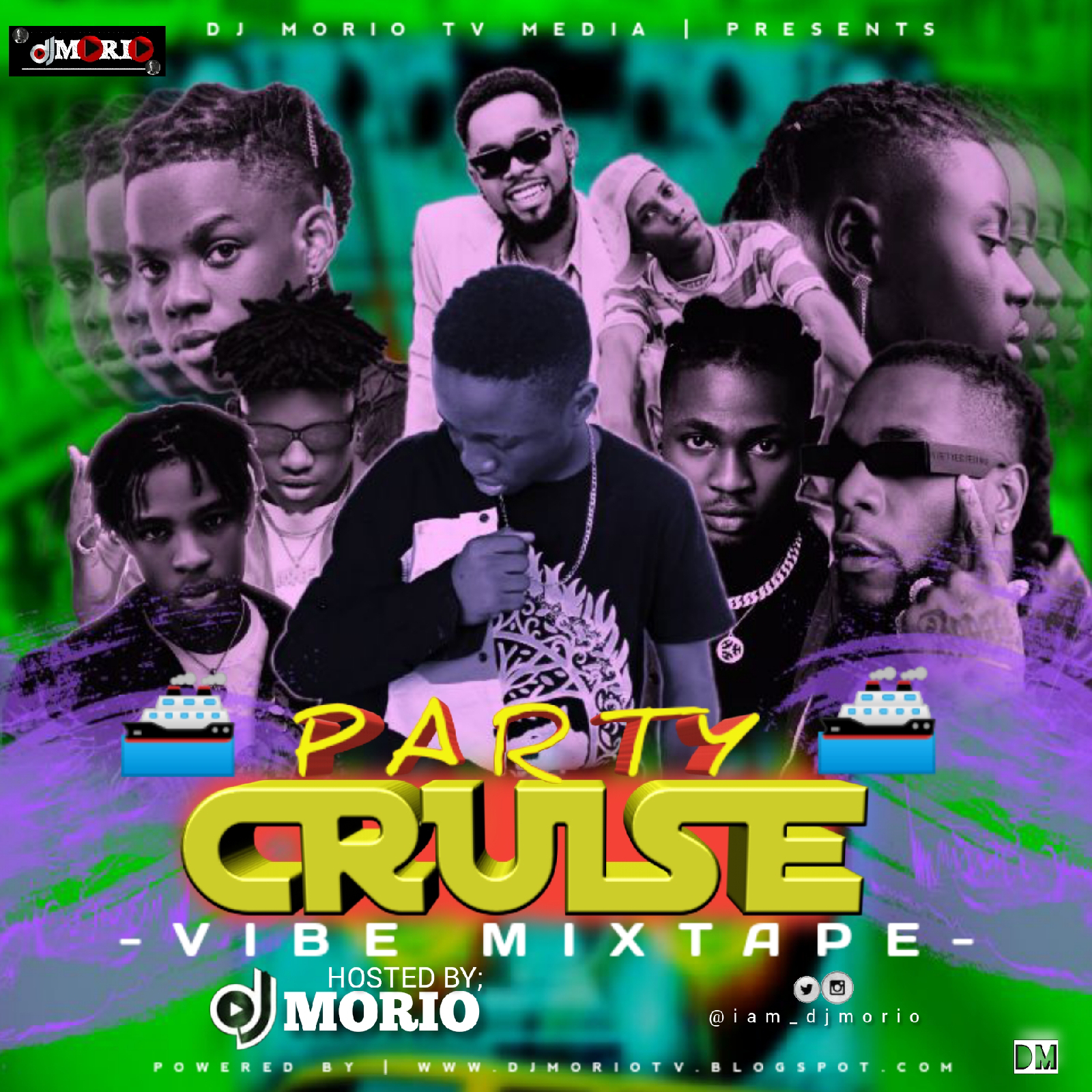 MIXTAPE : DJ MORIO - PARTY CRUISE VIBES MIXTAPE