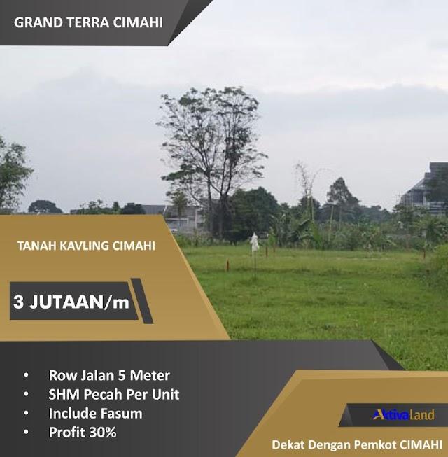 Tanah Kavling Hot Cimahi (Harga Perdana 3Juta-an/m²)