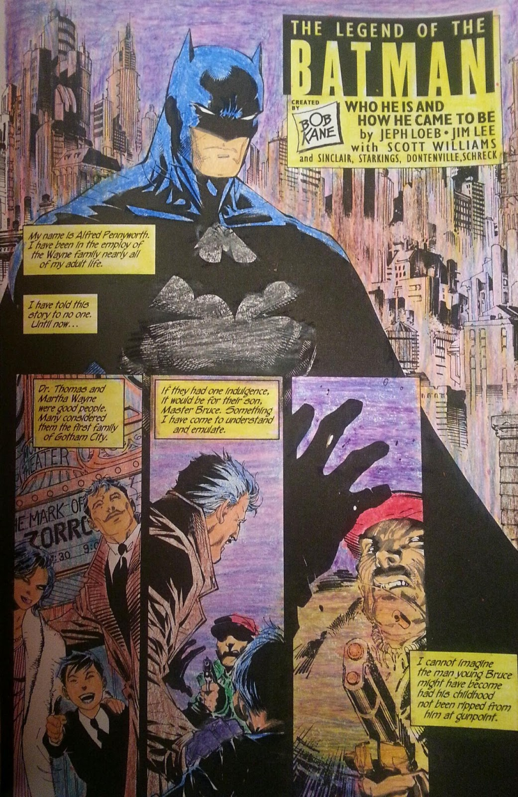 Comic Book Rehab Art Therapy Batman Hush Coloring Book Part 3