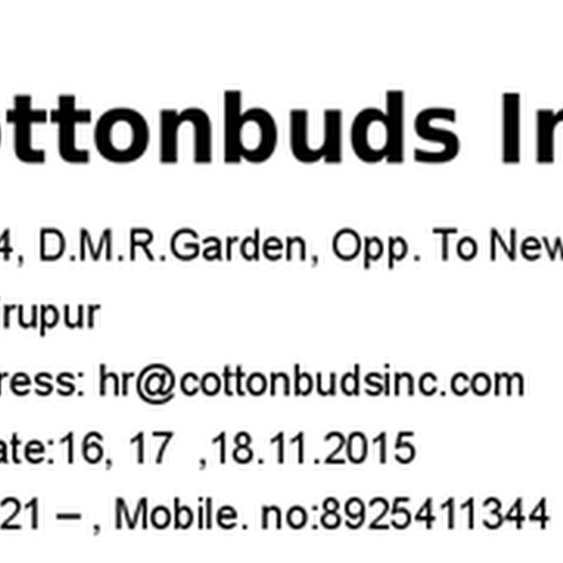 Accessories Purchase Officer - Textile jobs, Tirupur jobs