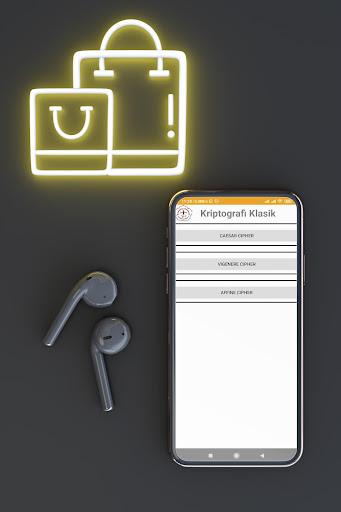 Kriptografi Klasik dan Modulo Kalkulator screenshot 1