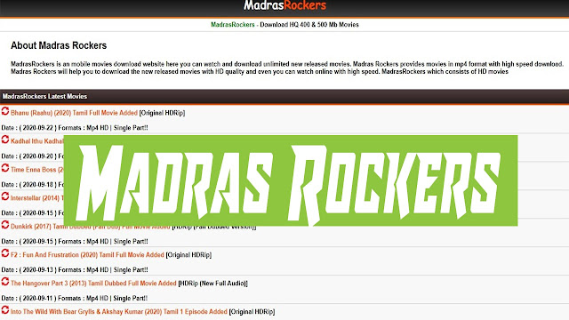 Madrasrockers 2021
