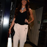 WWW.ENTSIMAGES.COM -  Cara Kilbey  leaving      Itsie Bitsie - fashion show at The Penthouse, 1 Leicester Square, London July 17th 2013                                                  Photo Mobis Photos/OIC 0203 174 1069