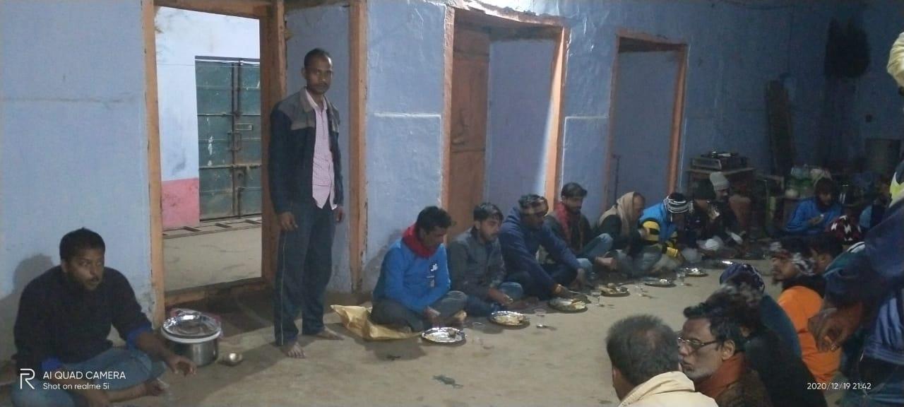 जन्मभूमि जनजागरण मंडल की बैठक में सक्रिय कार्यकर्ताओं की संस्था में रखने का लिया निर्णय