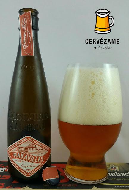 cerveza mahou Casimiro Maravillas cervezame