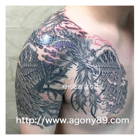 刺青 鳳凰、鳳凰 刺青画像、刺青デザイン、和彫り、鳳凰、刺青、画像、不死鳥、火の鳥、極楽鳥、朱雀、烏彫り、暈し、フェニックス、チャイニーズフェニックス、タトゥー デザイン、タトゥー、タトゥー画像、刺青画像、刺青デザイン画像、刺青デザイン画像集、刺青デザイン和彫り、タトゥーデザイン画像、タトゥーデザイン 画像集、tattoo、tattoo画像。