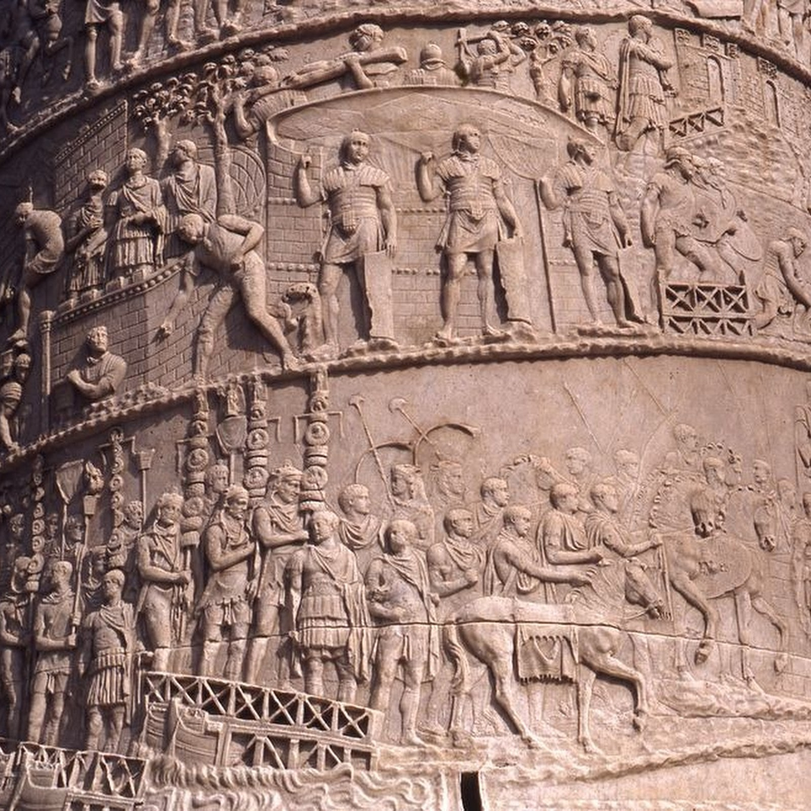 Trajan's Column: An Emperor's War Diary Carved in Stone