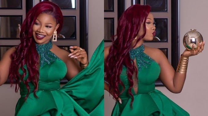 Reality TV Star, Tacha, Was A Whole New Juicy Vibe At The Africa Magic Viewers Choice Award 2020 (Photos)