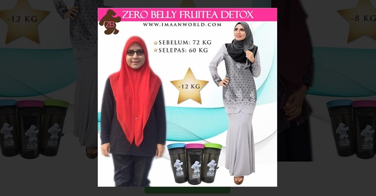 testimoni_zero_belly_fruitea_imaan_suci_world