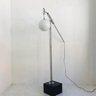 Modernist Chrome Floor Lamp