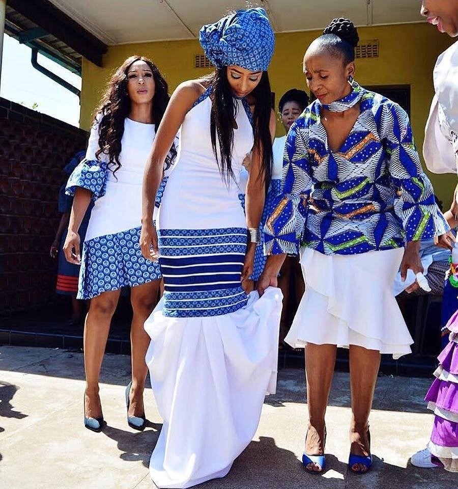 Shweshwe Dresses Are Made Of Beautiful Print