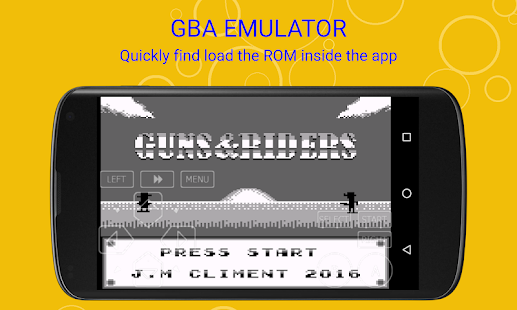 VinaBoy Advance - GBA Emulator Screenshot