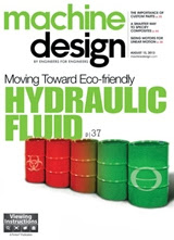 Machine Design Magazine August 2013 Edition