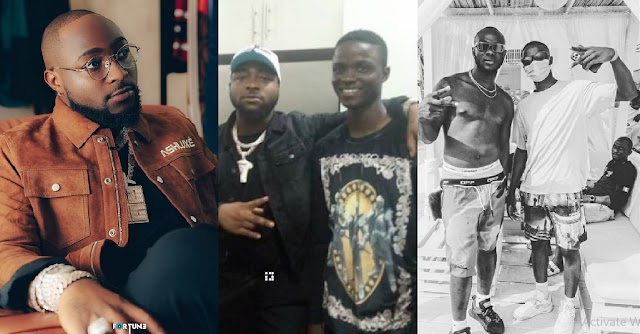 Talk and Do! Davido Finally secures a job for Obama DMW's son in his dad's company