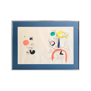 Joan Miró Derrière Le Miroir Lithograph