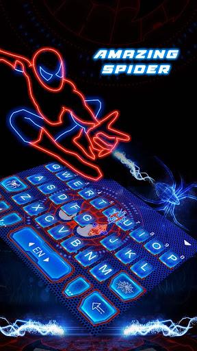 mod Amazing Spider Keyboard Theme  screenshots 4