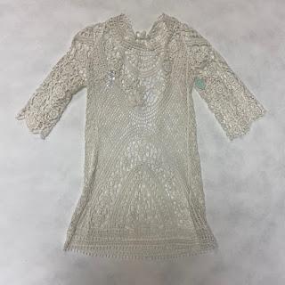 Sur La Plage Crochet Dress