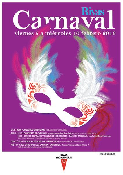 Carnaval 2016 en Rivas Vaciamadrid