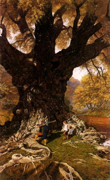 Old Oak Willow, Fantasy Scenes 1