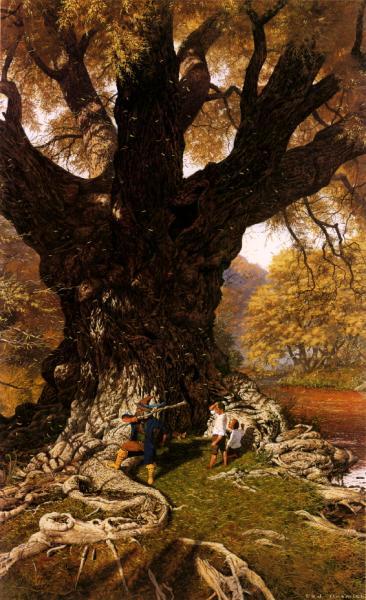 Old Oak Willow, Fantasy Scenes 1