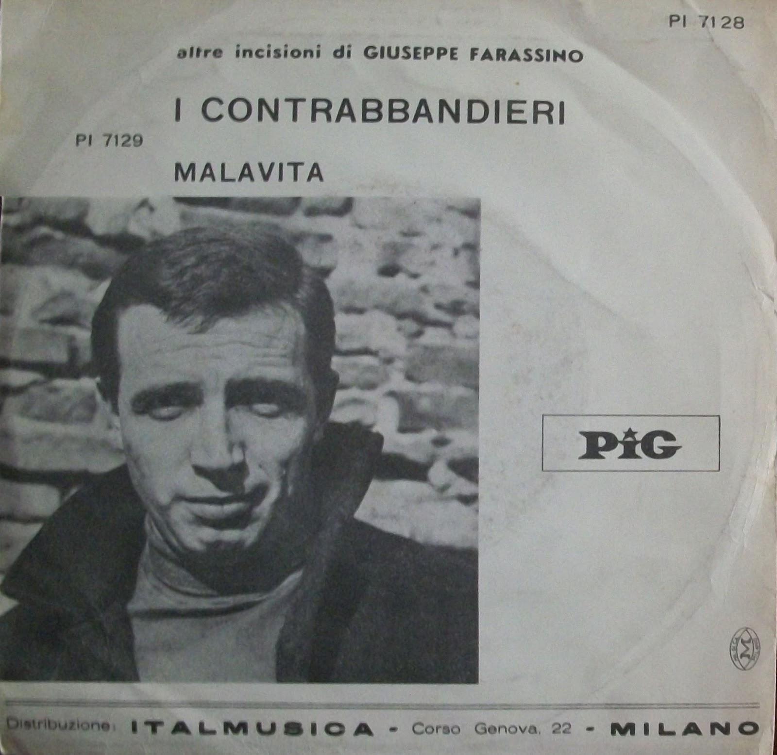 Giuseppe Farassino - Le Canzoni Della Mala