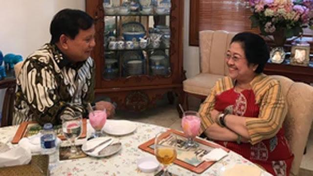 Megawati dan Prabowo Harmonis, PDIP Banyak Koalisi dengan Gerindra di Pilkada.