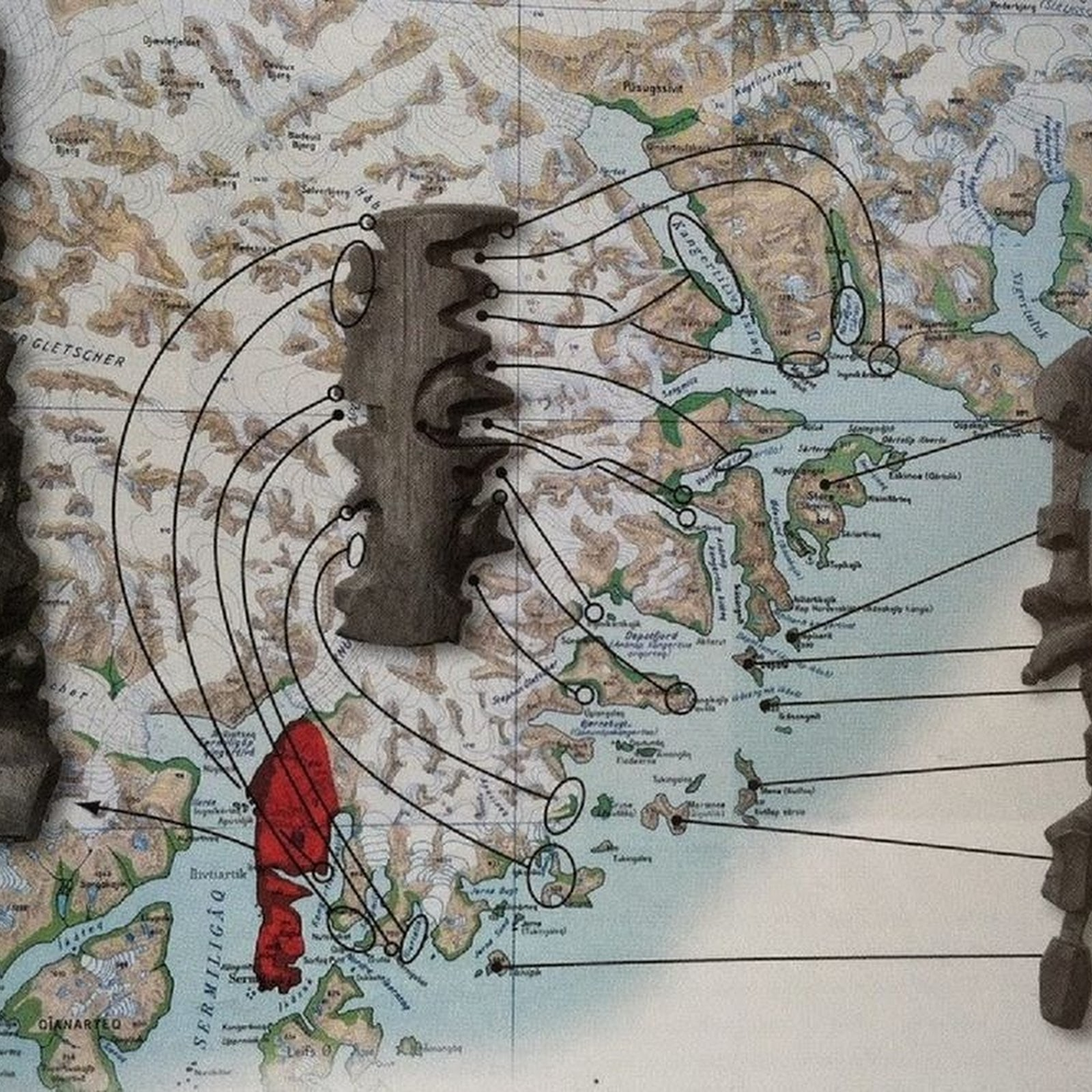 Inuit Tactile Maps of Greenland