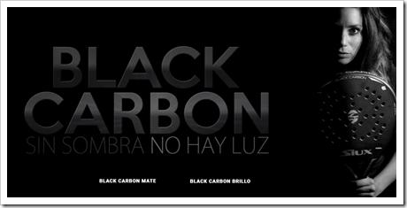 """Black Carbon"" la belleza oscura de SIUX."