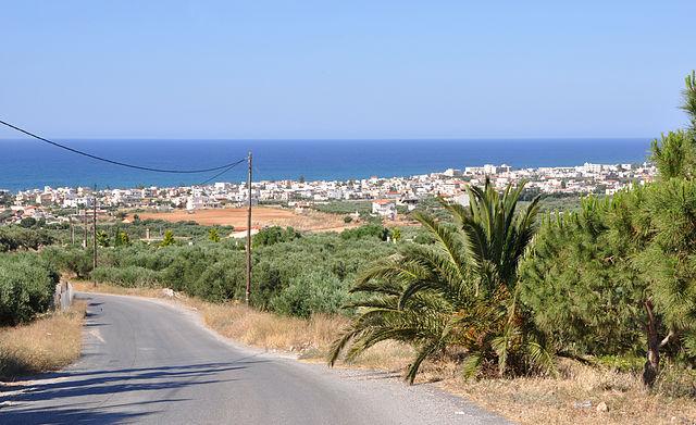 La localidad de Kokkini Hani, en el municipio de Gouves, en Creta